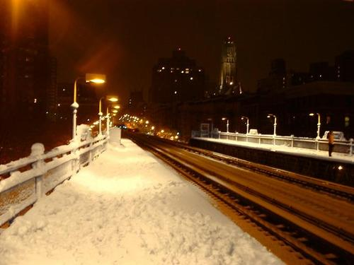 White Christmas at 125th Street Station